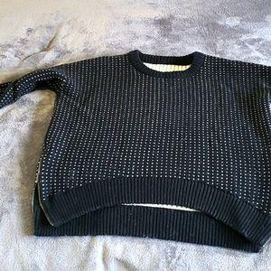 Lulu lemon yogi crew sweater in merino wool